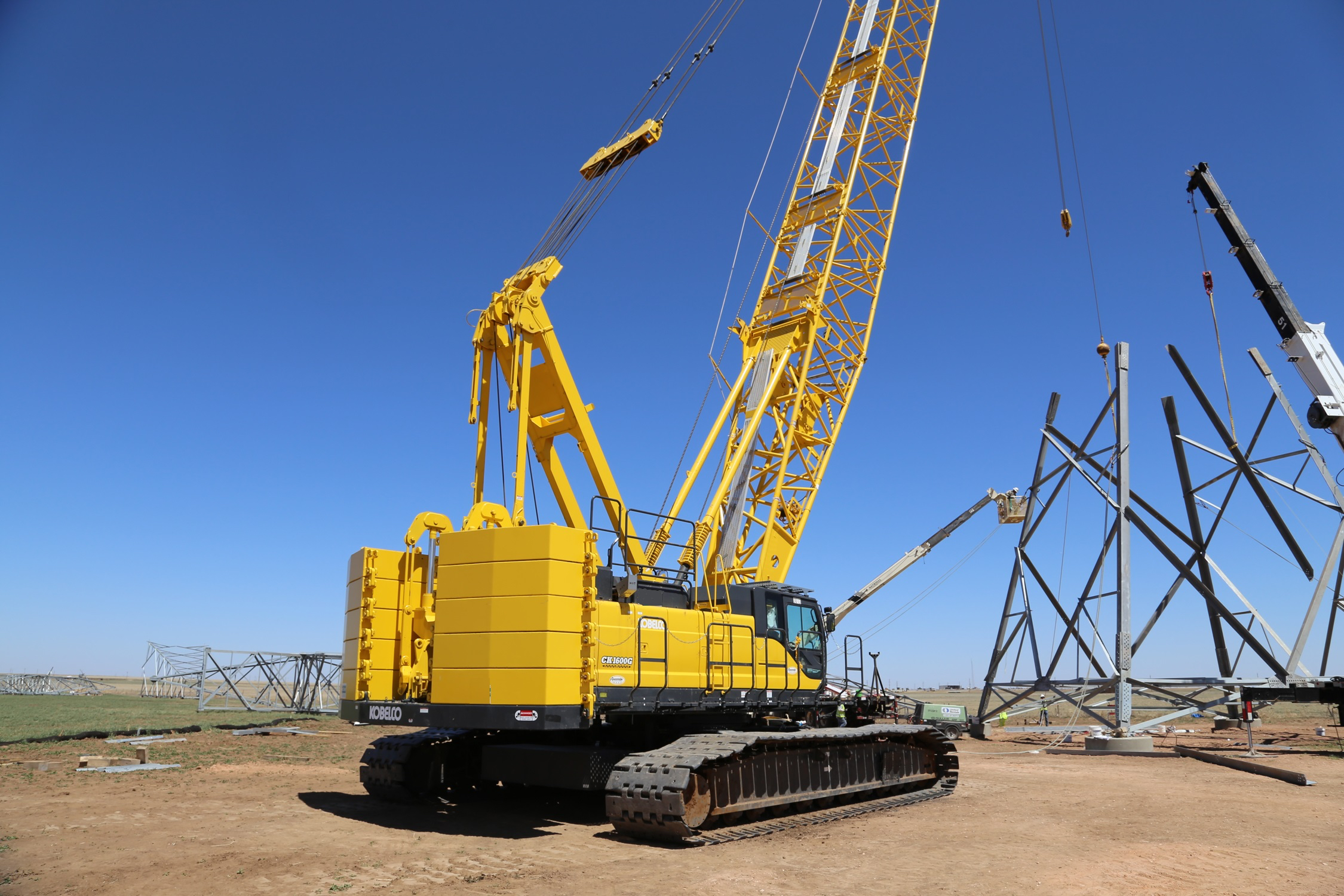 Empire Crane Company is now an Authorized Dealer for Kobelco Cranes