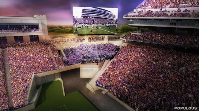 Mortenson | GE Johnson Construction Breaks Ground on Third Round of Renovations at K-State's Bill Snyder Family Stadium