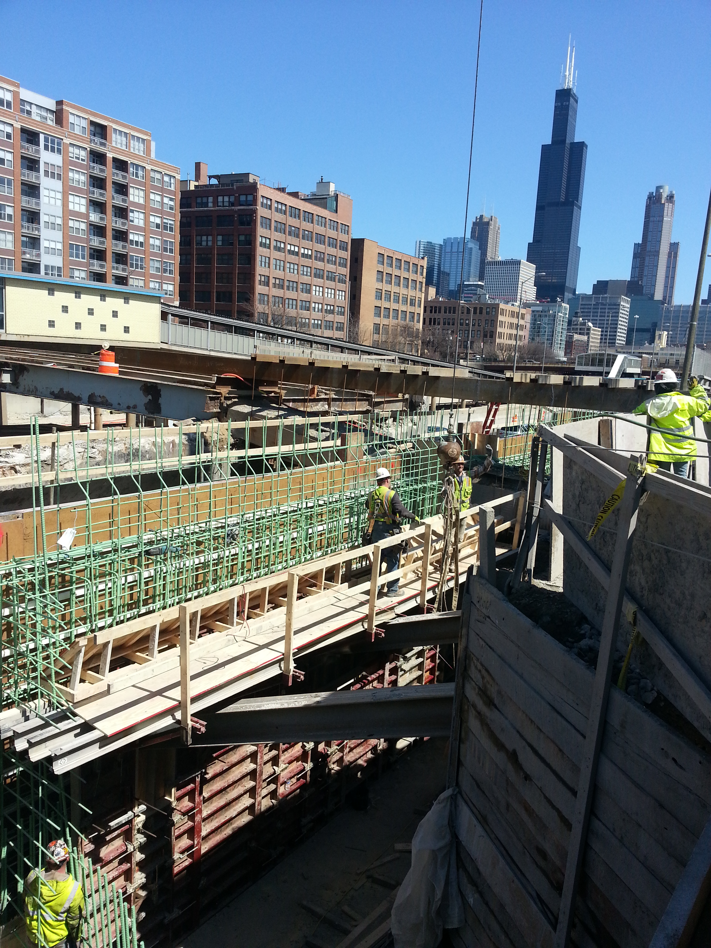 Chicago's Four-Year I-90/94 at I-290 Project Reconstructs