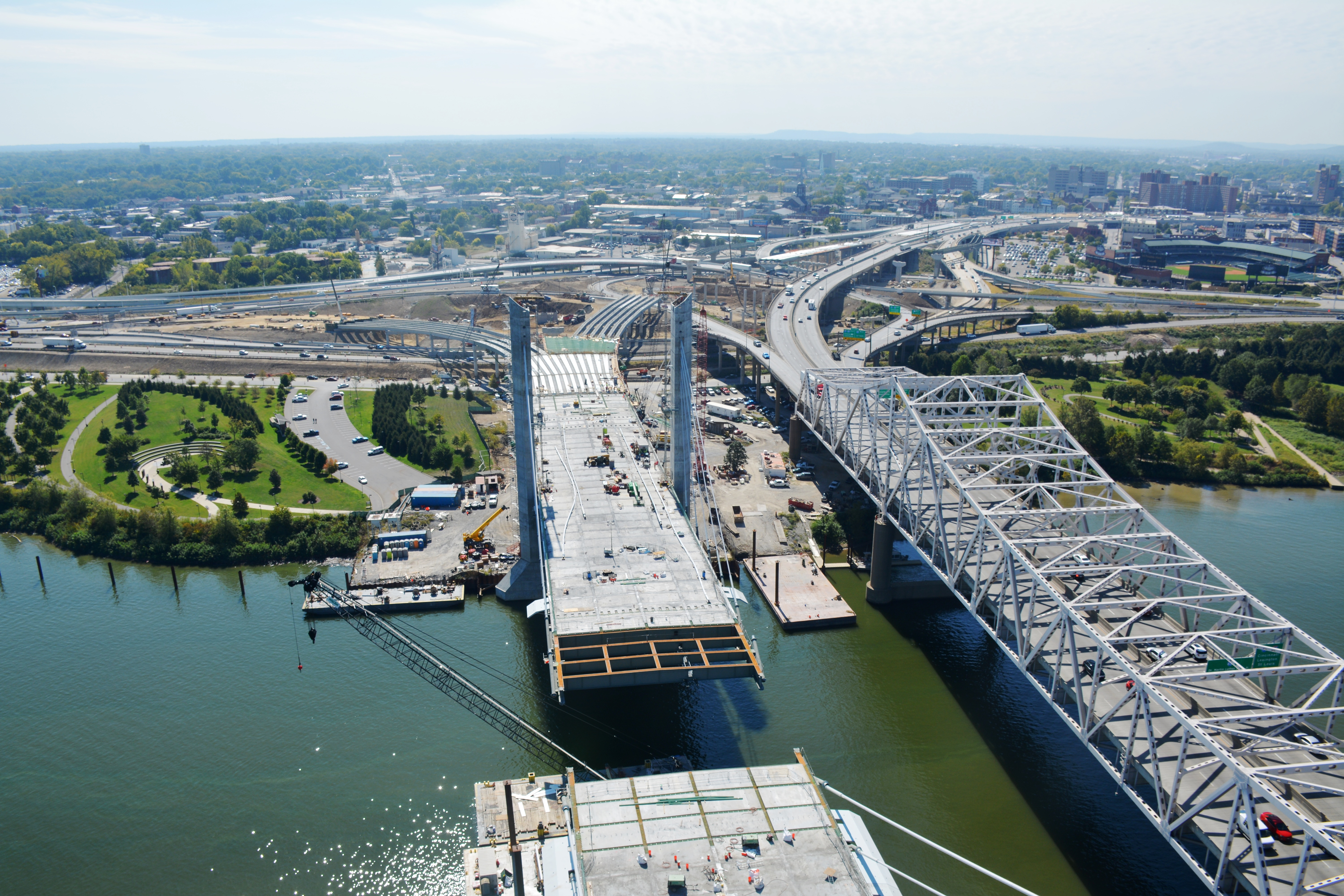 Ohio River Bridges Improve Cross-River Mobility and Safety