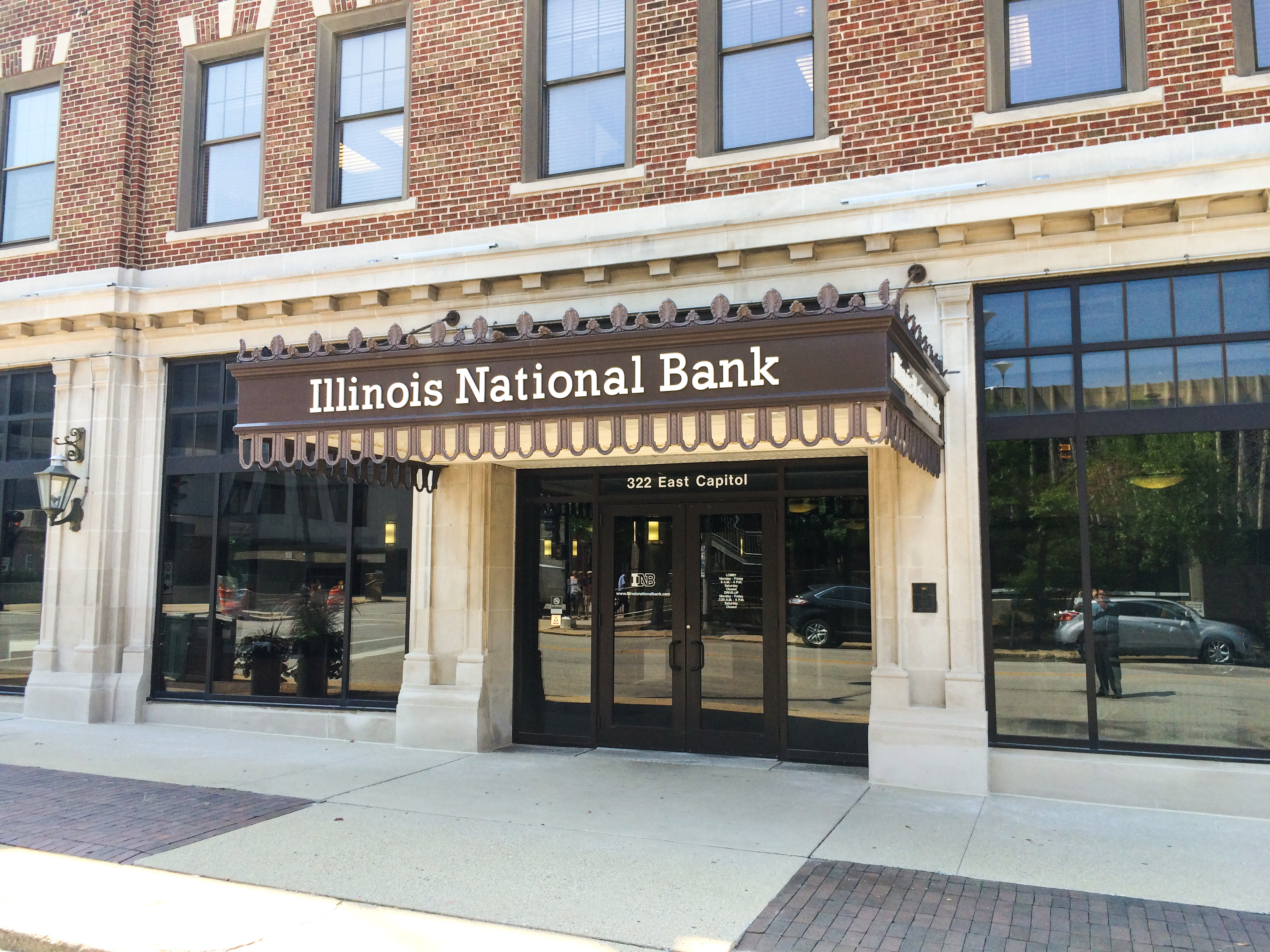 Illinois National Bank Completed Project