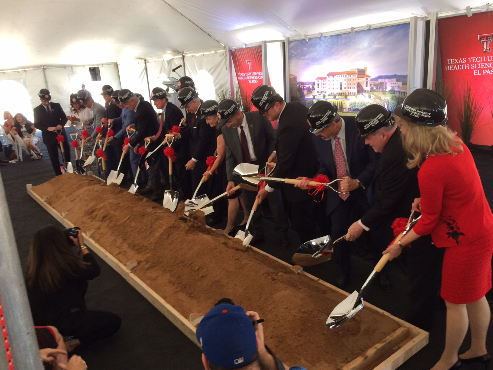 Texas Tech groundbreaking