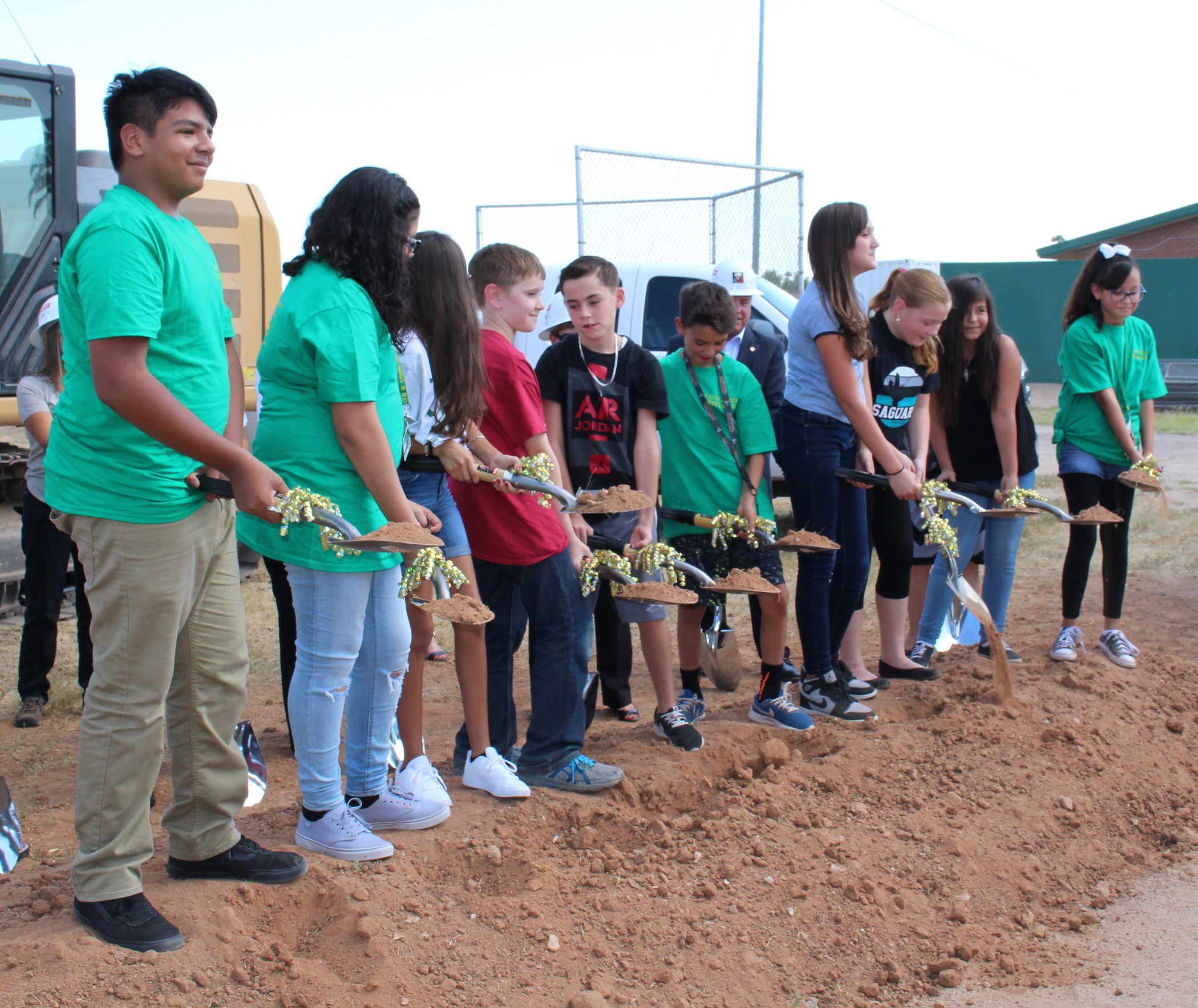 CG groundbreaking students