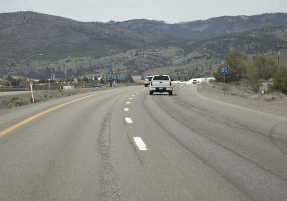 I 80 west of reno resurfacing