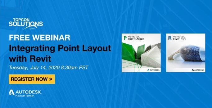 WEBINAR: Autodesk Point Layout Series: Integrating with Revit